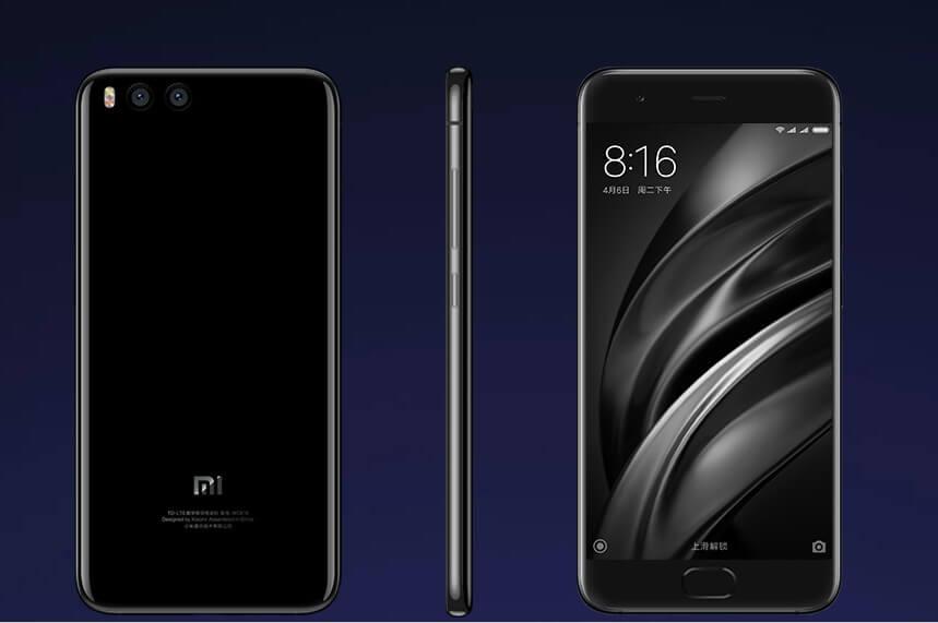 Xiaomi Mi 6 launched