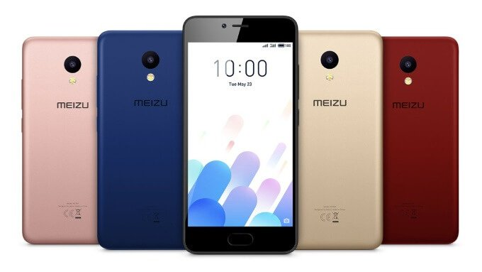 Meizu M5c launched