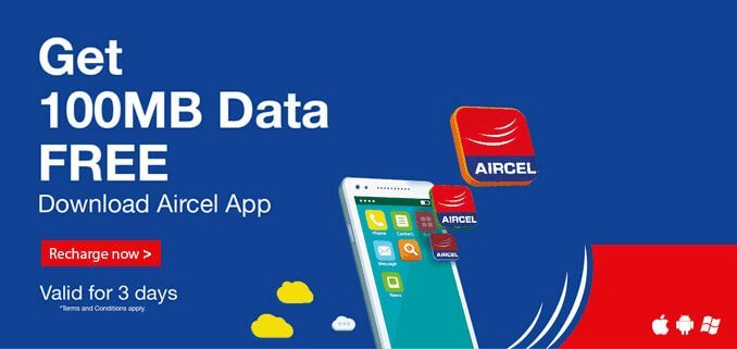 aircel new offer
