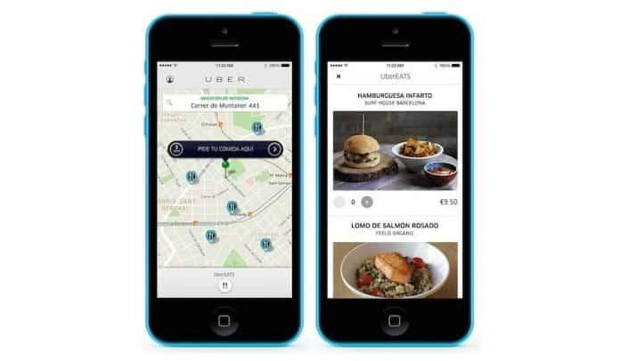 online food delivery service UberEATS
