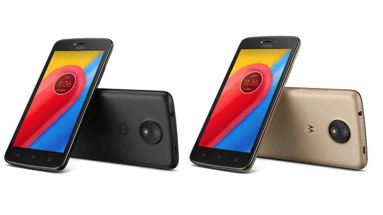 Moto C launched