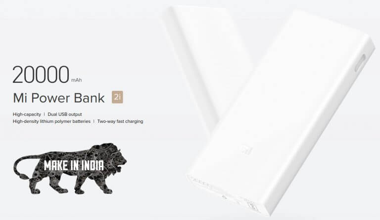 Mi Power Banks 2i