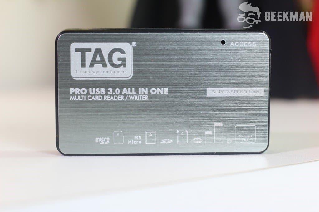 TAG PRO USB 3.0 Multi-Card Reader