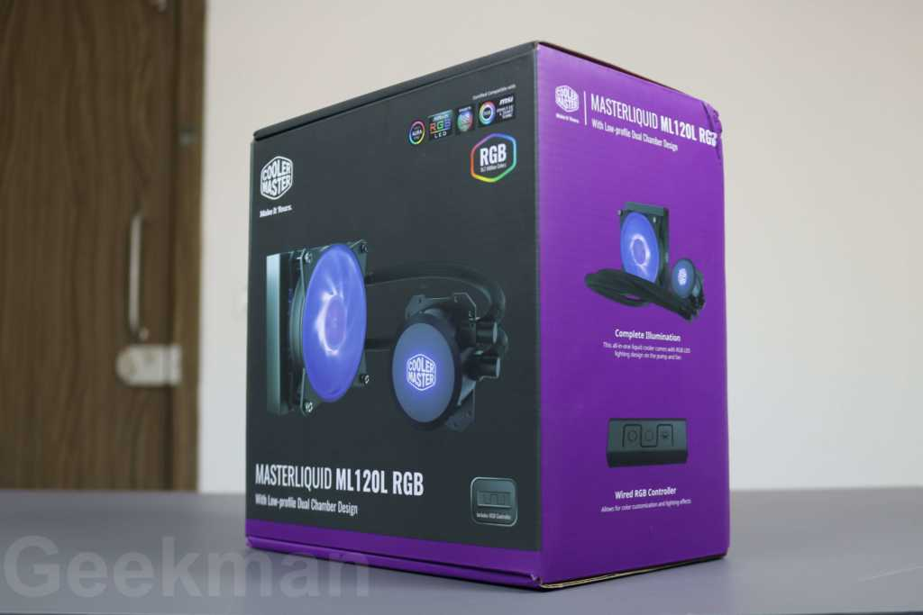 Cooler Master MasterLiquid ML120L Liquid Cooler