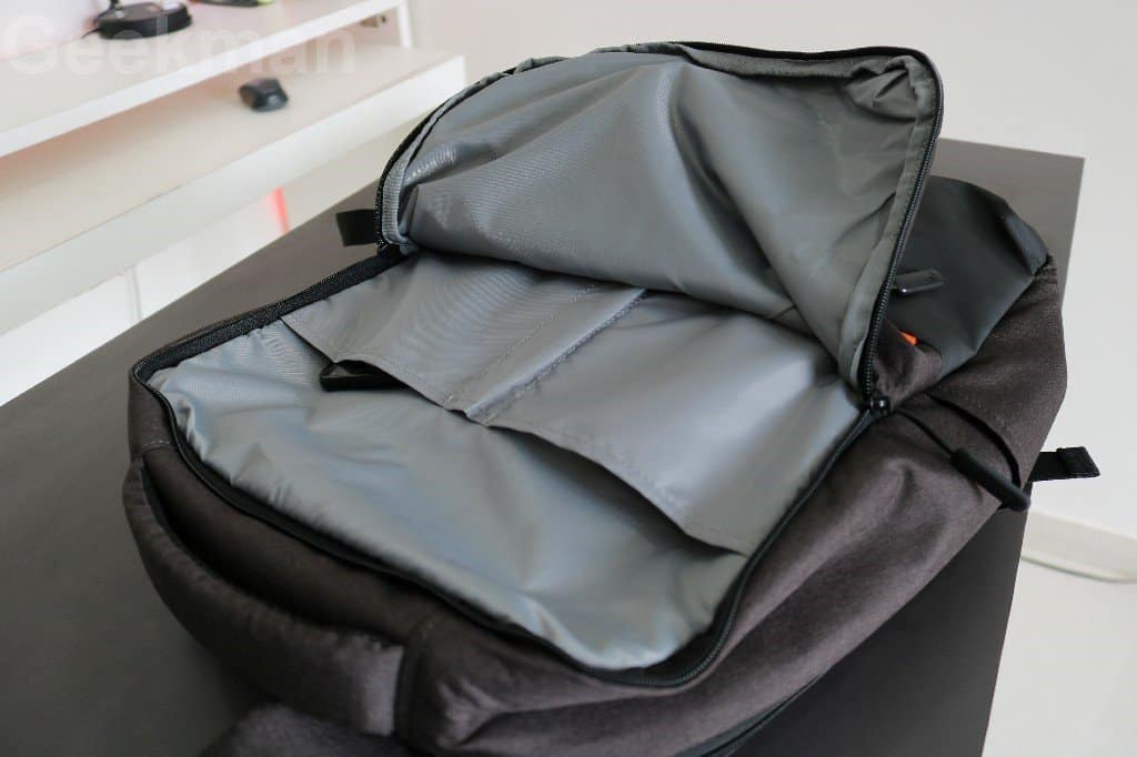 Mi Business Casual Backpack first pocket