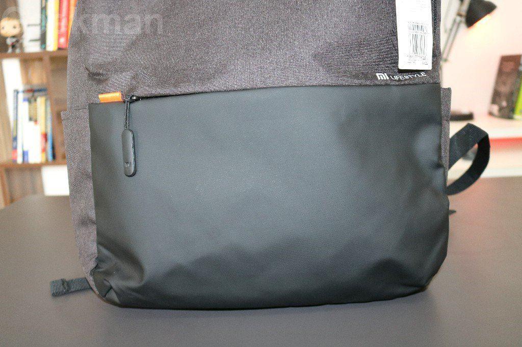 mi backpack front side