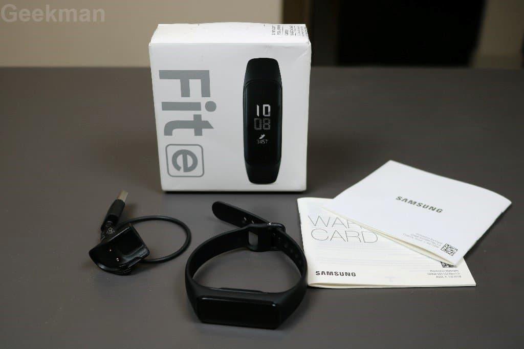 Samsung Galaxy Fit e box content
