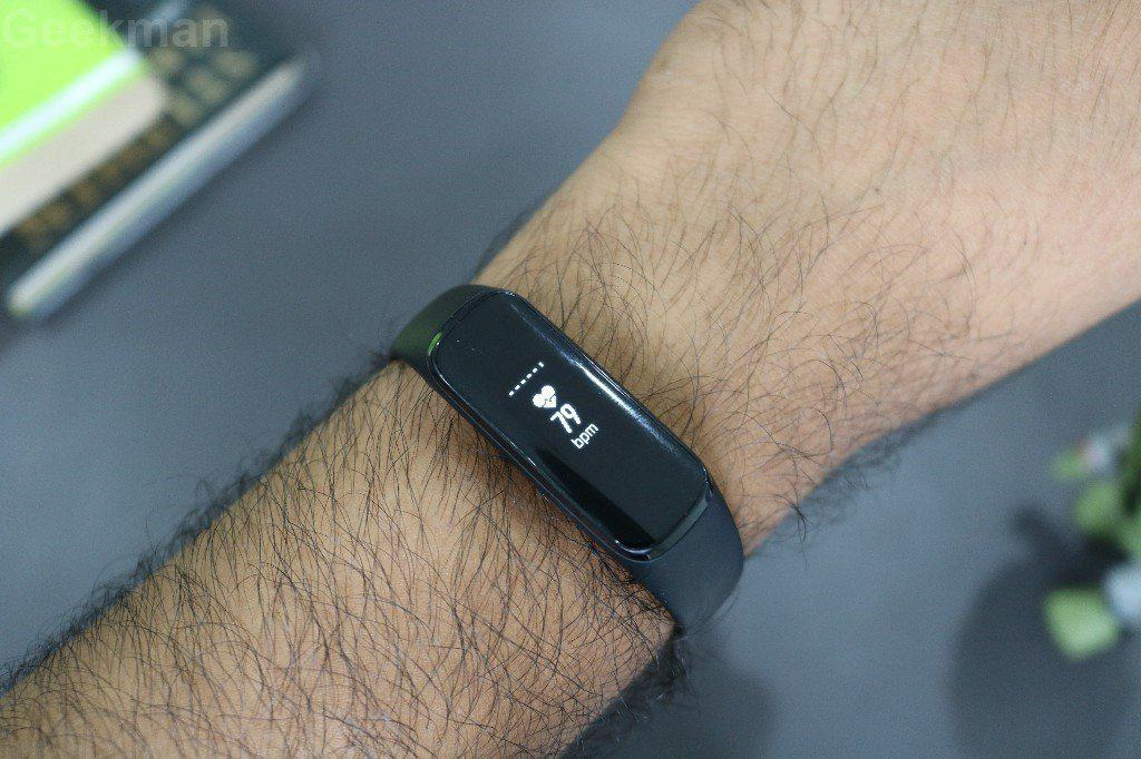 Galaxy Fit e heart rate