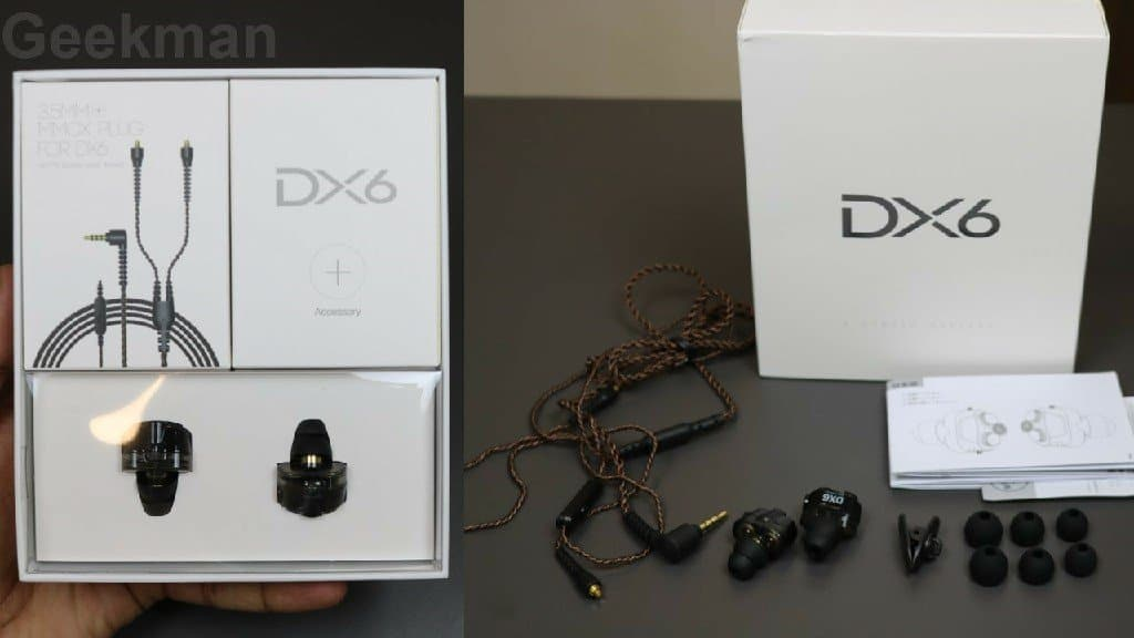Xmowi DX6 box content