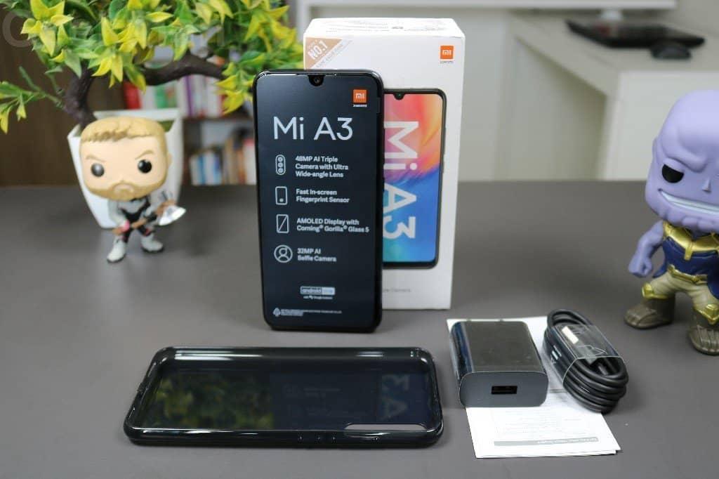 Xiaomi Mi A3 Box content