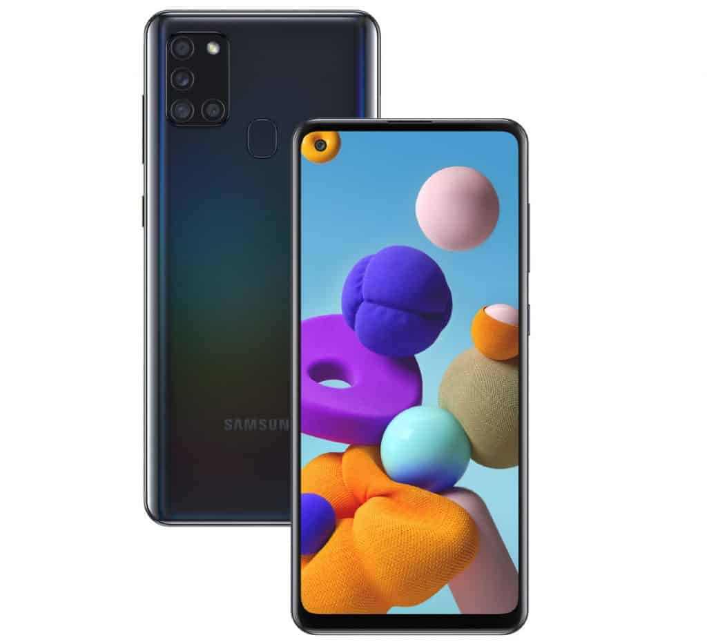 Samsung Galaxy A21s Launched
