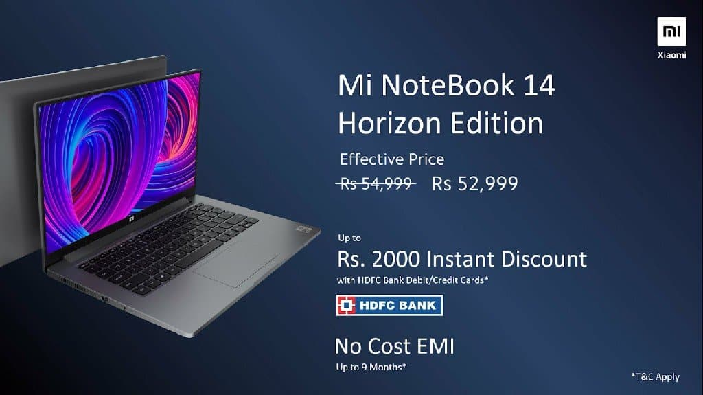 Mi NoteBook 14 & Mi Notebook 14 Horizon Edition