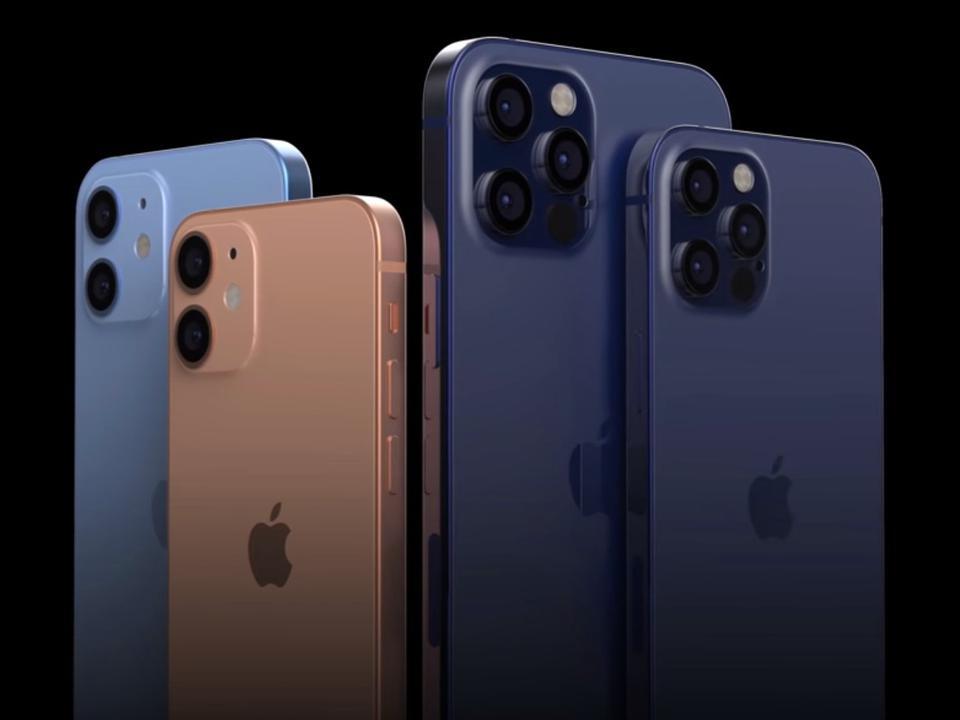 iPhone 12 mini and iPhone 12