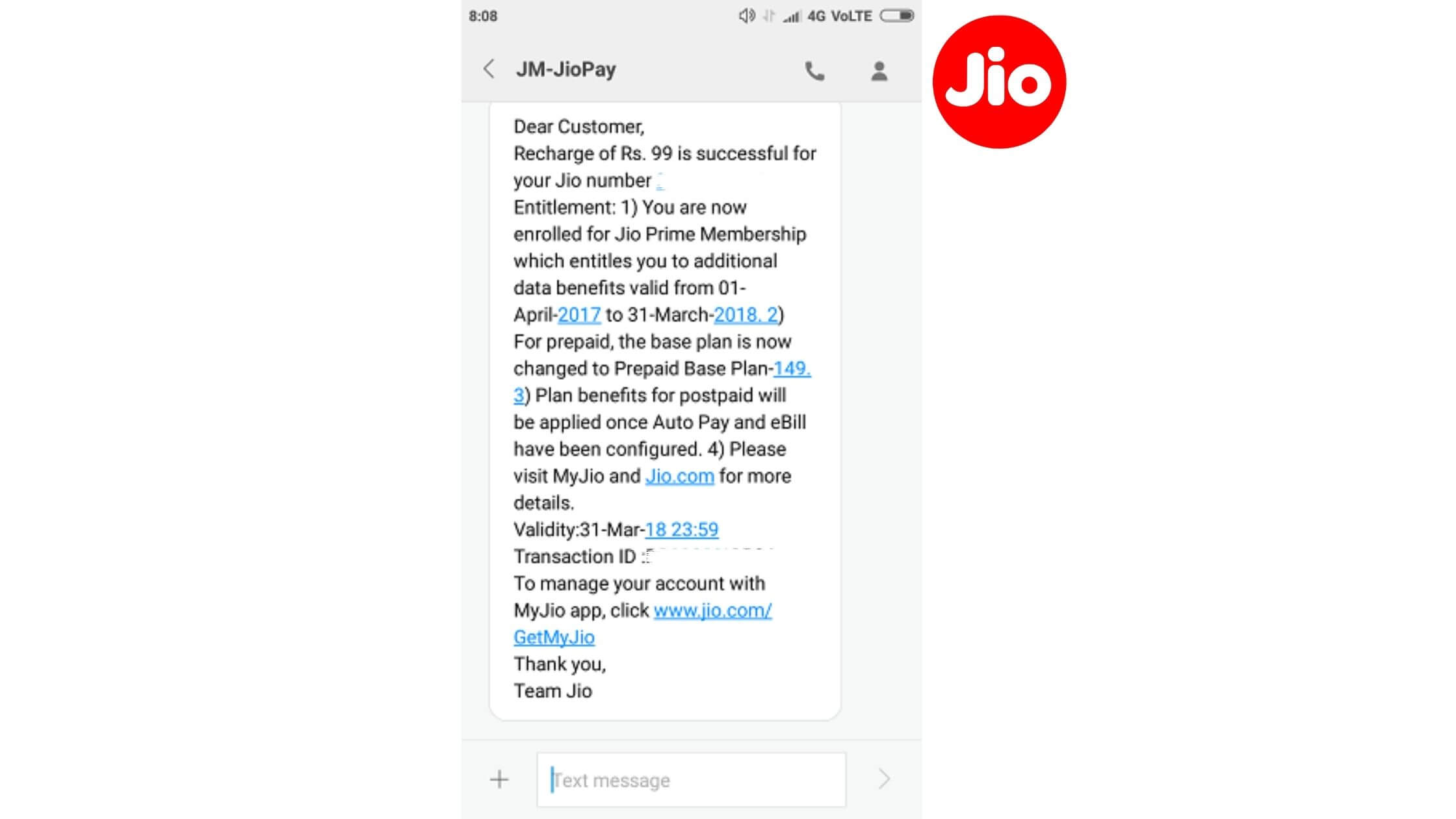How to check Jio SIM number by Call