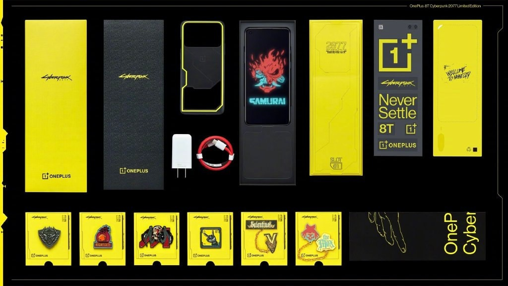 Oneplus 8T Cyberpunk 2077 Limited Edition Smartphone