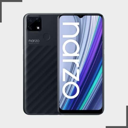 Realme Narzo 30A best phones under 10000