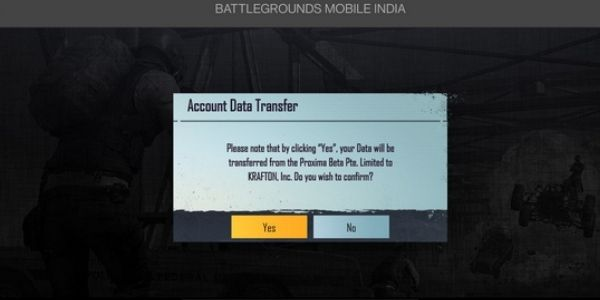 Yes, Battlegrounds Mobile India lets you officially transfer your old PUBG mobile account data to Battlegrounds Mobile India
