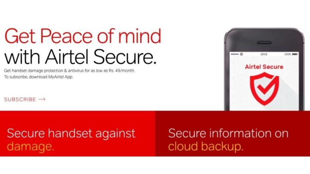 Airtel Secure Mobile Insurance