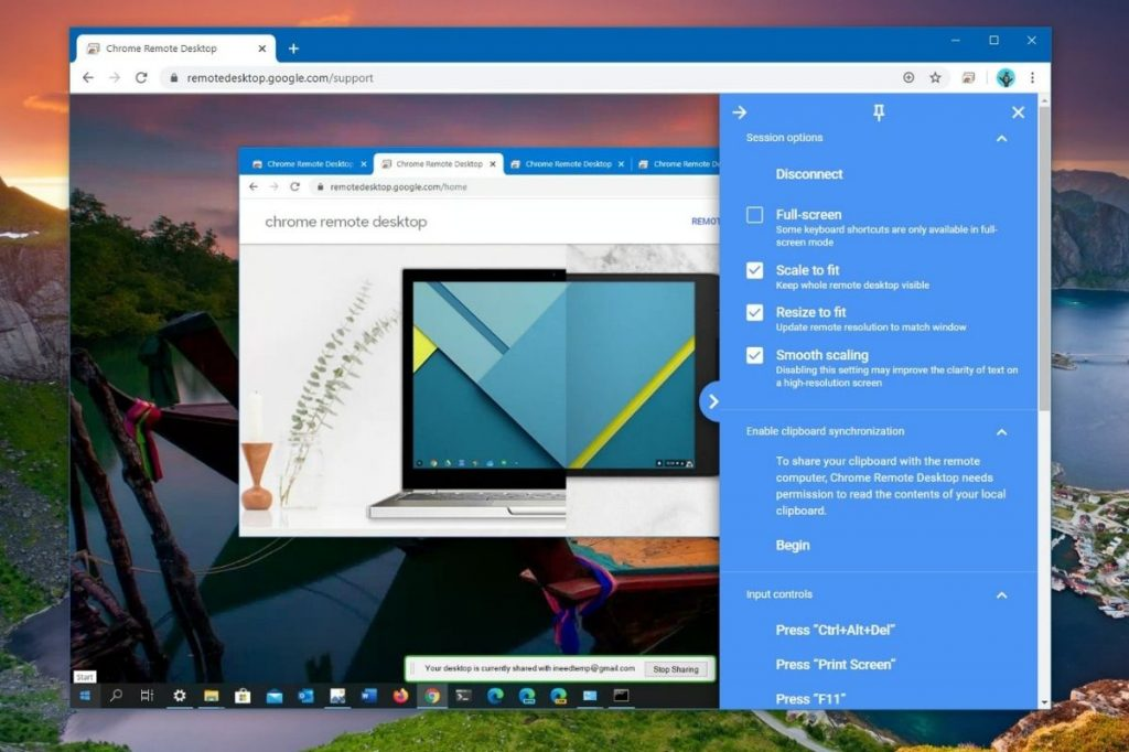 Chrome Remote Desktop best teamviewer ulternative